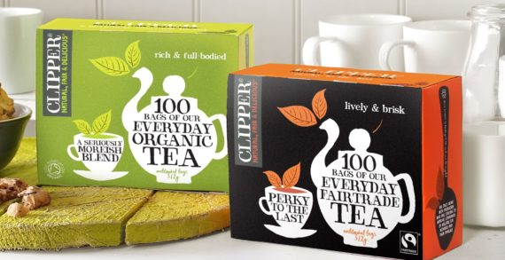 Katie Piper helps to spread Clipper Teas' Fairtrade Fortnight message
