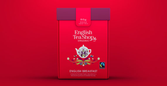 """""""From farm to cup"""": Echo Brand Design collaborates with English Tea Shop to design their most sustainable packaging to date"""