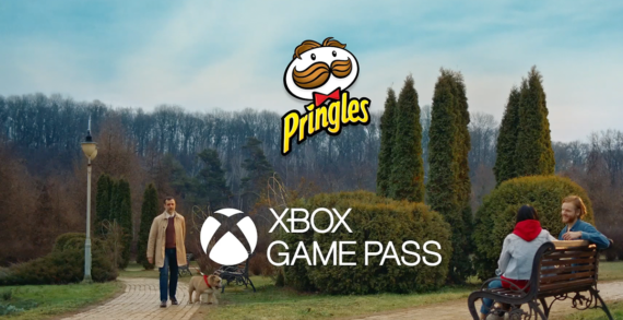 """Pringles, in conjunction with Xbox, brings gaming to the real world"""
