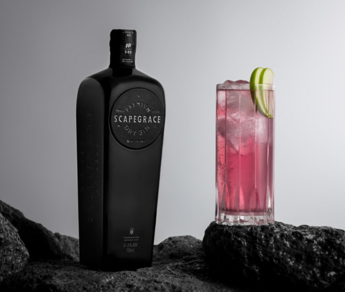 Black Out: UK launch for Scapegrace Black Gin