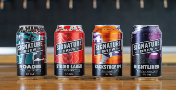Signature Brew Launch Pub In A box, Hand Delivered By Out Of Work Musicians