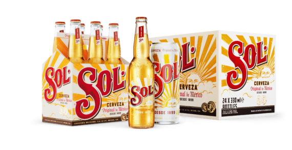 Vault49 Creates New Packaging Design for Sol in Global Markets