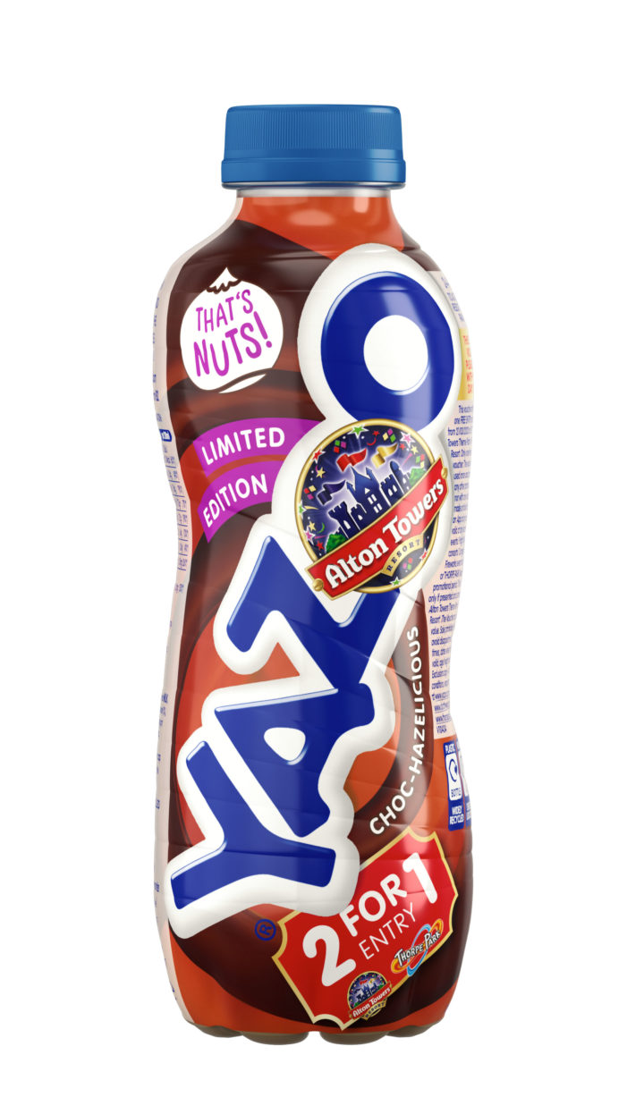 Let's Get Nutty! Yazoo Launches New Limited Edition Flavour