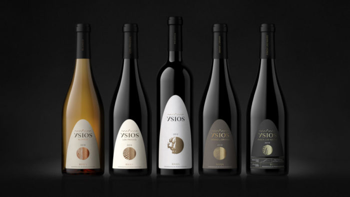Ysios redesigned by Coley Porter Bell to capture the craft and story behind the fine wine brand