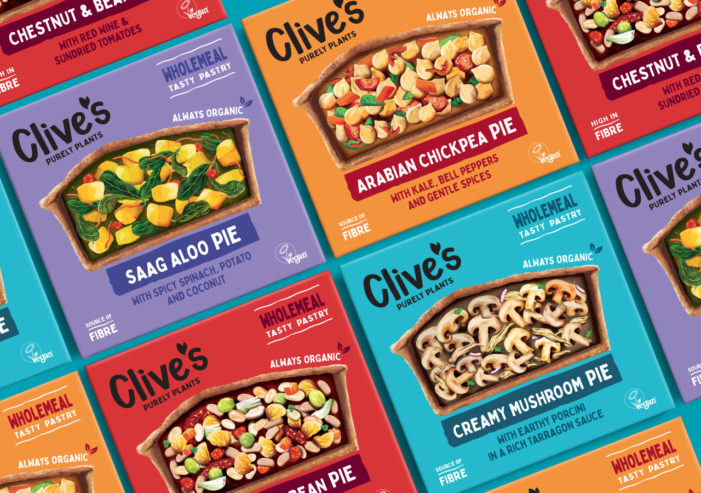 The Collaborators Rebrands Clive's To Bring Some 'Plant Positivity' To The Pie Category
