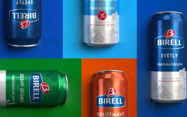 Hart & Jones injects modernity into Birell Non-Alcoholic Beer designs