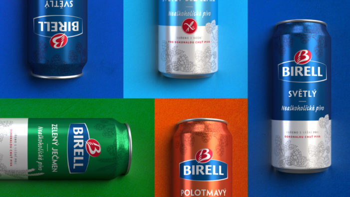 Hart & Jones injects modernity into Birell Non-Alcoholic Beer designs