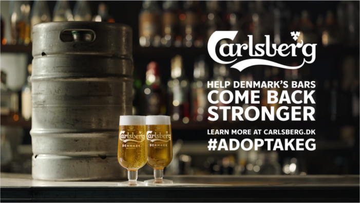 Carlsberg Urges People to Adopt A Keg to Support Bars in Denmark With a Campaign Created by Grey Europe