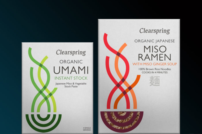 Mayday re-brand's Clearspring Organic Japanese Noodles with clarity.