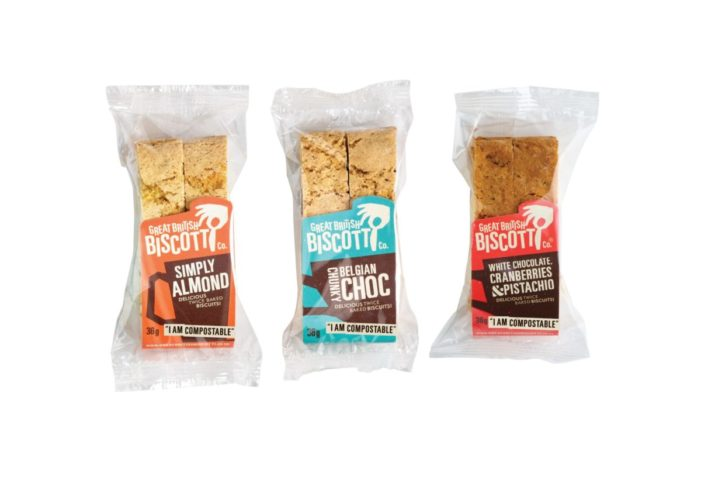 Great British Biscotti Co Ushers In Compostable Packaging & Plant-based Recipes