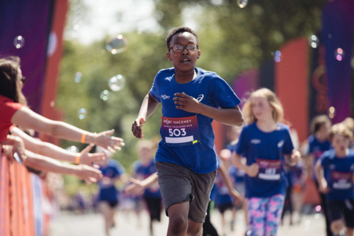 The Asics London 10k's Weetabix Protein Youth Challenge Goes Virtual