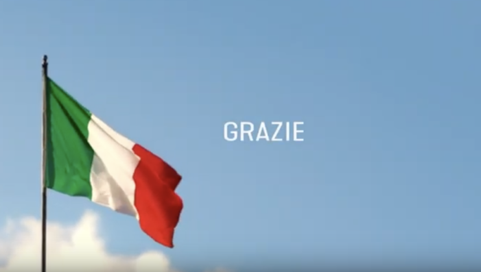 """The Barilla Group's big """"Thank You"""" to the Italy that stands strong"""