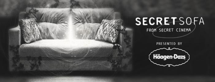 Häagen-Dazs partners with Secret Cinema to launch Secret Sofa as part of #HaagIndoors initiative