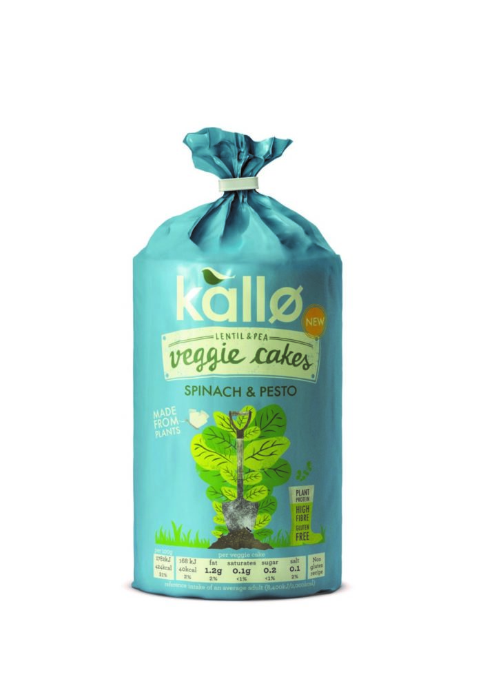 Kallø launches NEW protein-packed veggie cakes in two tasty flavours
