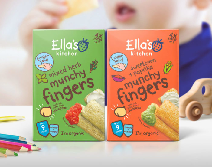 Biles Hendry Helps Consumers Understand Product Versatility For New Munchy Fingers from Ella's Kitchen