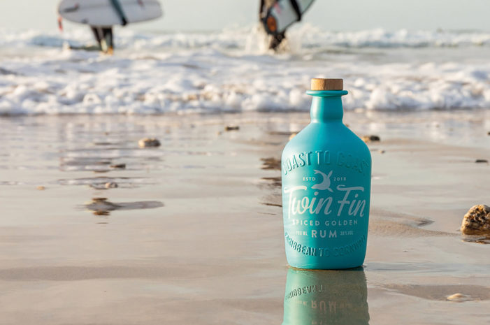 Twin Fin Rum launches with strikingly stand-out Design by Buddy Creative