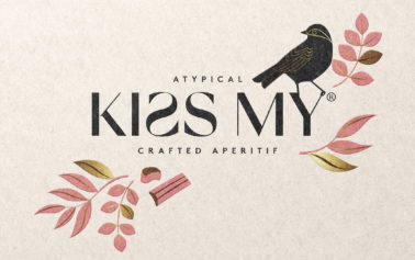 "Pearlfisher creates brand identity and packaging design for adventurous vermouth brand, ""Kiss My"""