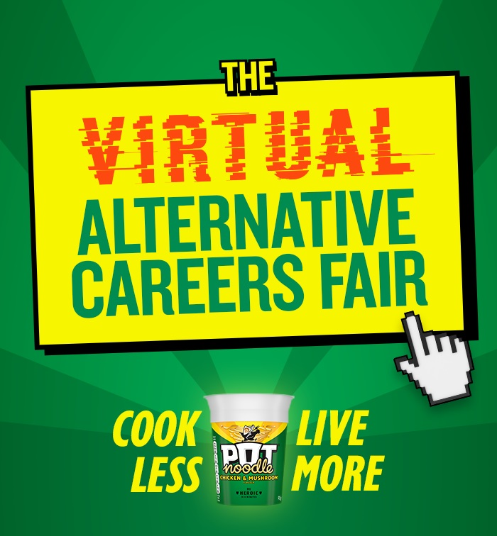 Calling all hungry students! Pot Noodle launches virtual careers fair