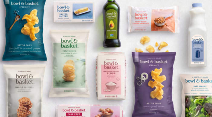 Pearlfisher New York designs ShopRite's new own brand for food products, Bowl & Basket, to bring consumers together