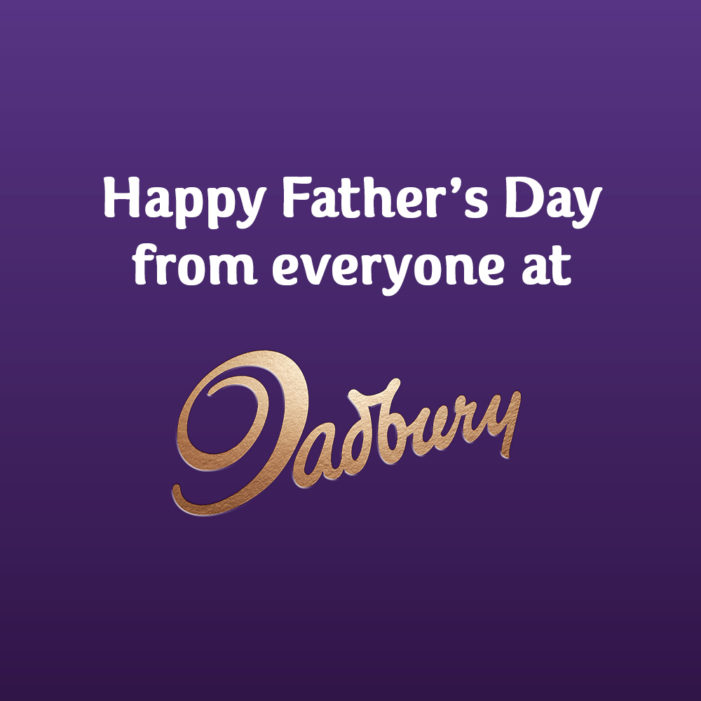 Cadbury becomes Dadbury