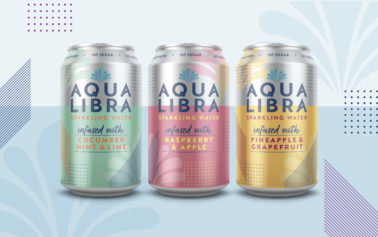 A new identity for Aqua Libra, the UK's leading sparkling-infused water