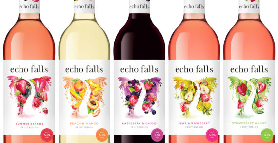 Echo Falls unveils sophisticated new look and fresh positioning to attract new audiences