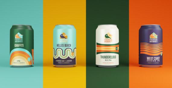 Cornish branding agency for a Cornish brewery