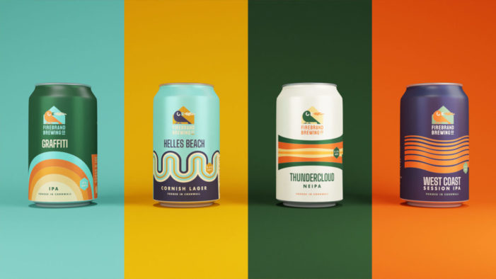 Cornish branding agency for a Cornish brewery