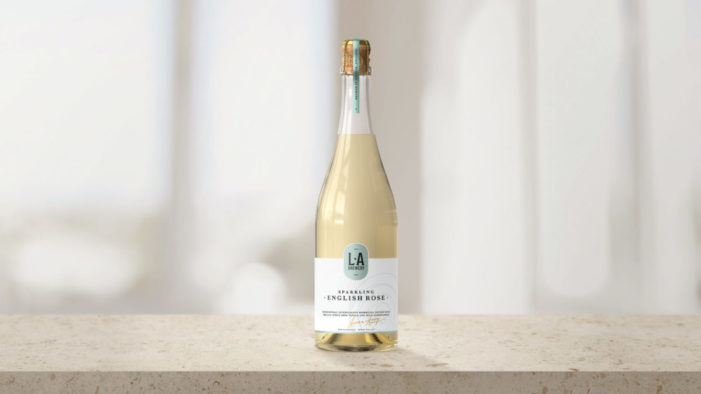 L.A Brewery unveils new champagne-inspired kombucha, with design and branding by Here Design