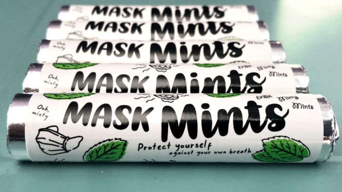Forever Beta launches Mask Mints, free mints for London commuters.