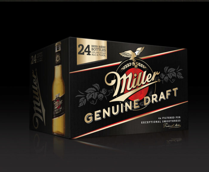 Seymourpowell reinvigorates iconic global beer brand Miller Genuine Draft with identity and packaging refresh
