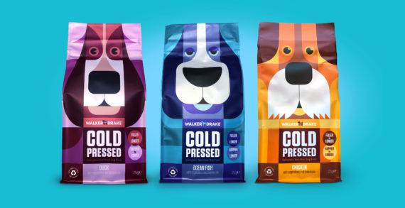 Walker & Drake Launch Unique 'Cold Pressed' Dog Food