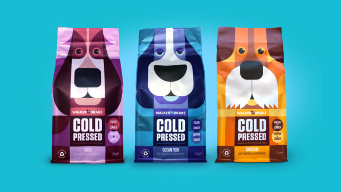 Walker & Drake Launch Unique 'Cold Pressed' Dog Food