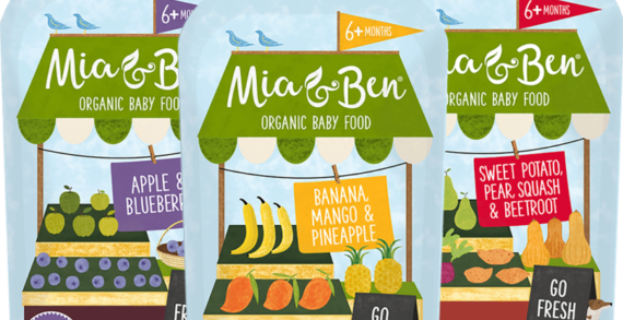 Hello From MIA & BEN! The New Brand on a Mission to bring Baby & Toddler Food into the 21st Century