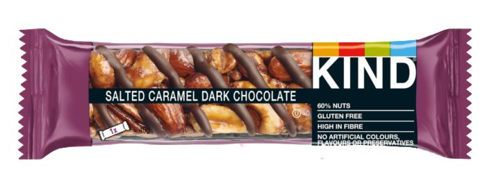Kind Launches Salted Caramel Dark Chocolate Bar