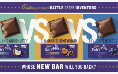 Cadbury presents 'Battle of the Inventors'