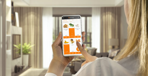 Success for on-demand grocery delivery service