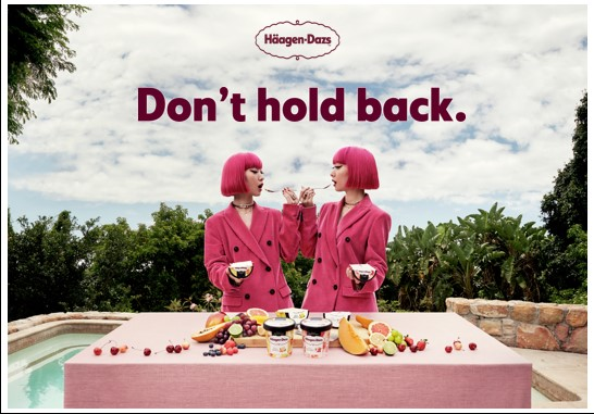 Häagen-Dazs on mission to inspire with empowering new campaign