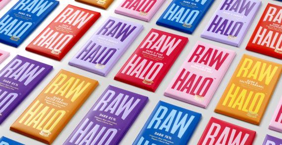 Raw Halo' Brand Redesign by B&B Studio strikes Gold!
