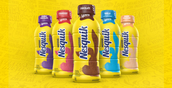 Nesquik Rebrand Modernized for Growth & New Audiences