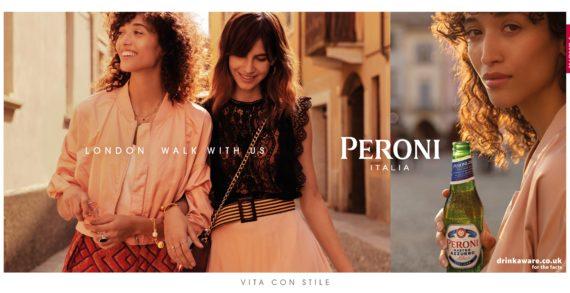 Peroni Nastro Azzurro Invites UK To Embrace The Italian Spirit Of LA PASSEGGIATA In New Global Marketing Campaign