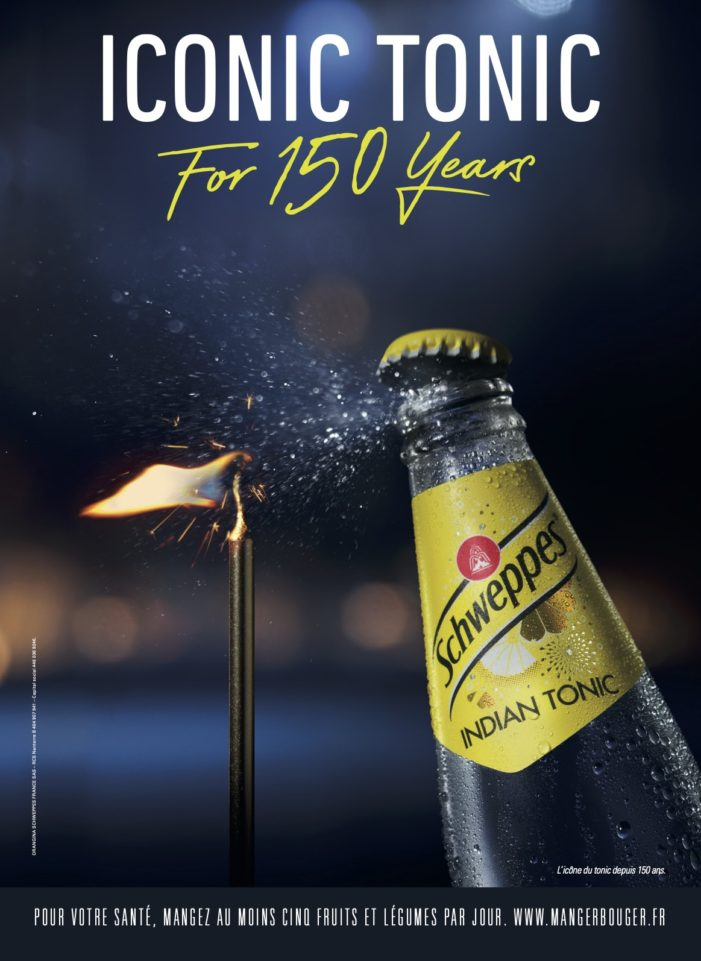 Iconic Tonic For 150 years – Schweppes