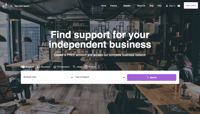 """Find My Rep"" launch platform to help independent businesses find support after lockdown"