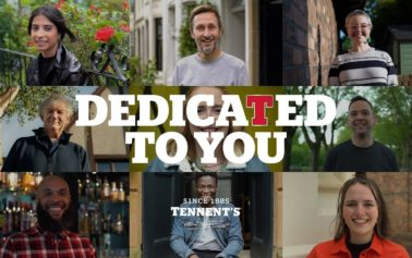 DEDICATED TO YOU – Tennent's supports on-trade with launch of new brand campaign gifting pint to Scotland