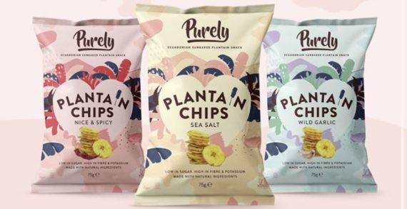 New Brand Identity & Investment For Better-For-You Snacking Pioneer, Purely Plantain