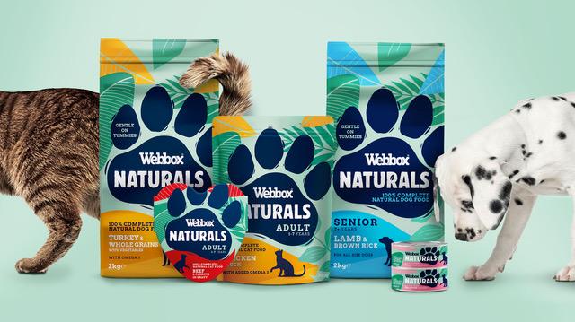 Brandon unveils new Webbox Naturals brand identity.