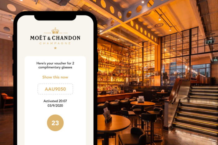 Moët & Chandon supports on-trade footfall