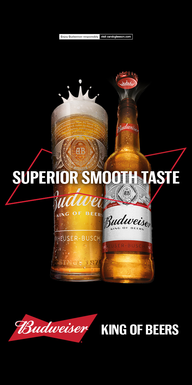 Budweiser launches major new marketing campaign across the Republic of Ireland