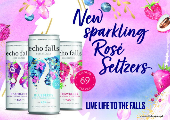 Echo Falls launches its first ever Rosé Seltzers with botanical twist
