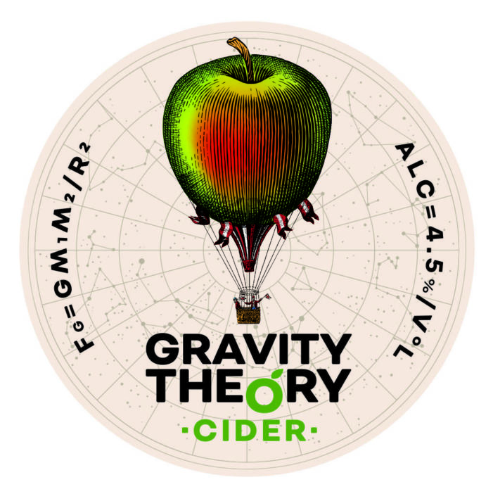 Gravity Theory Cider from Herefordshire launched into Drinkscraft portfolio